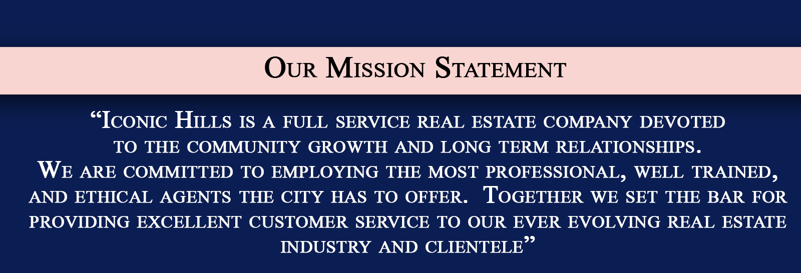 About Us Page Mission Statement Final